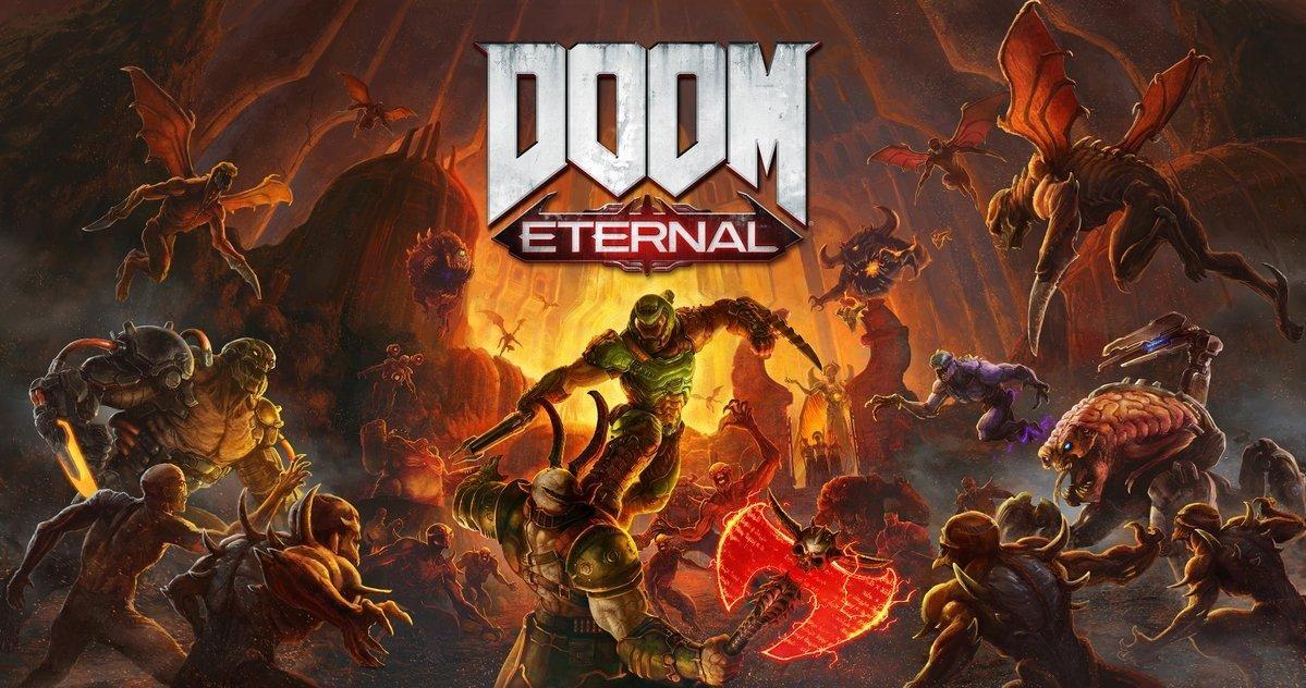 Скриншоты Doom Eternal с Nintendo Switch 8