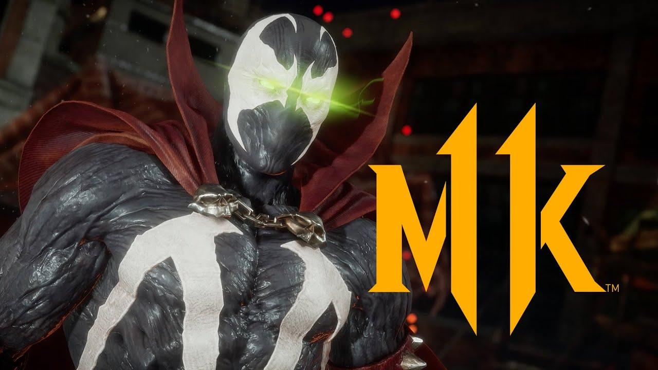 Mortal Kombat 11 - Геймплейный трейлер Спауна 98