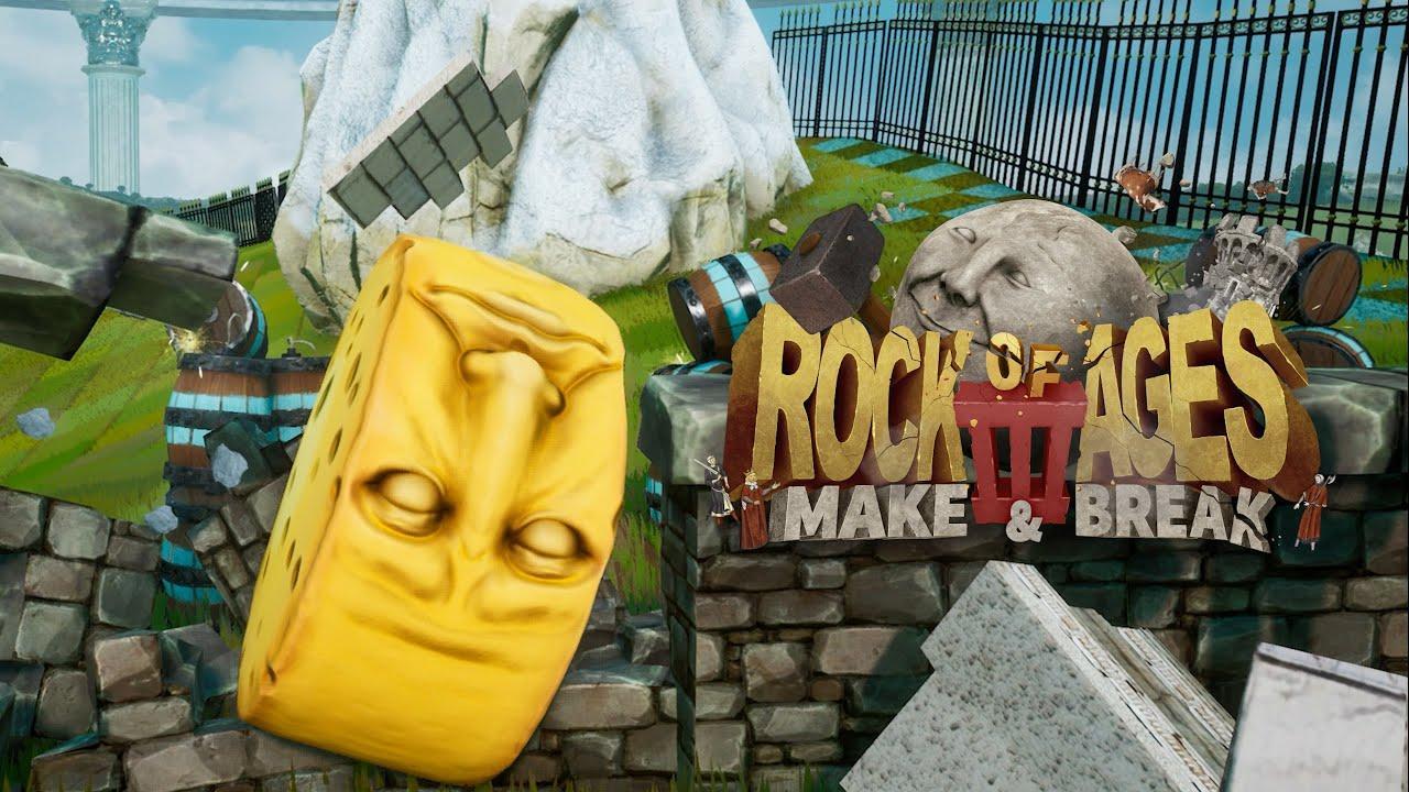 Релиз Rock of Ages 3: Make & Break отложили 2