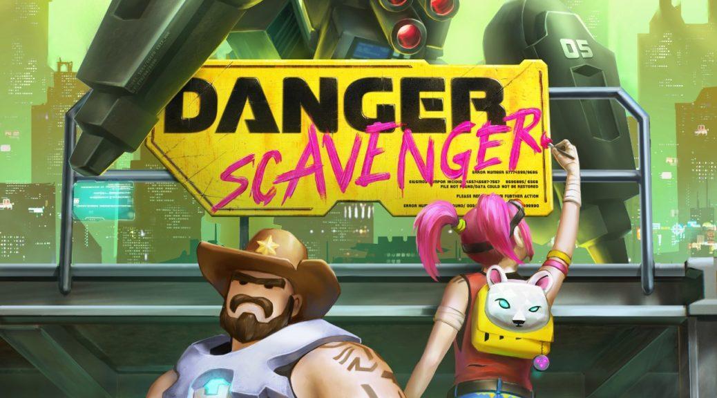 Киберпанк рогалик Danger Scavenger в марте заглянет на Nintendo Switch 6