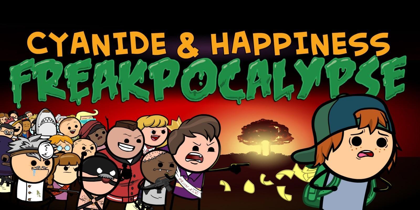 Cyanide & Happiness – Freakpocalypse в марте выйдет на Switch 2