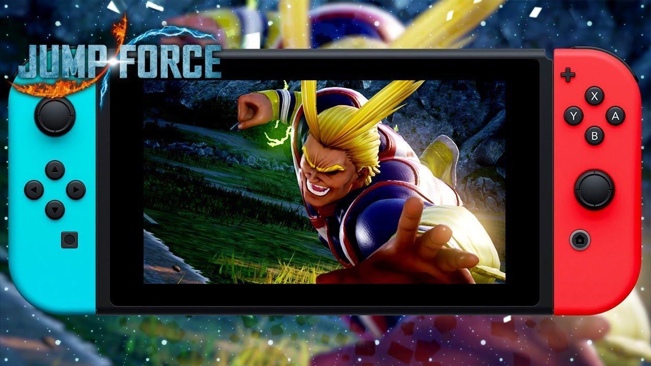 Трейлер к анонсу игры Jump Force Deluxe Edition на Switch 2