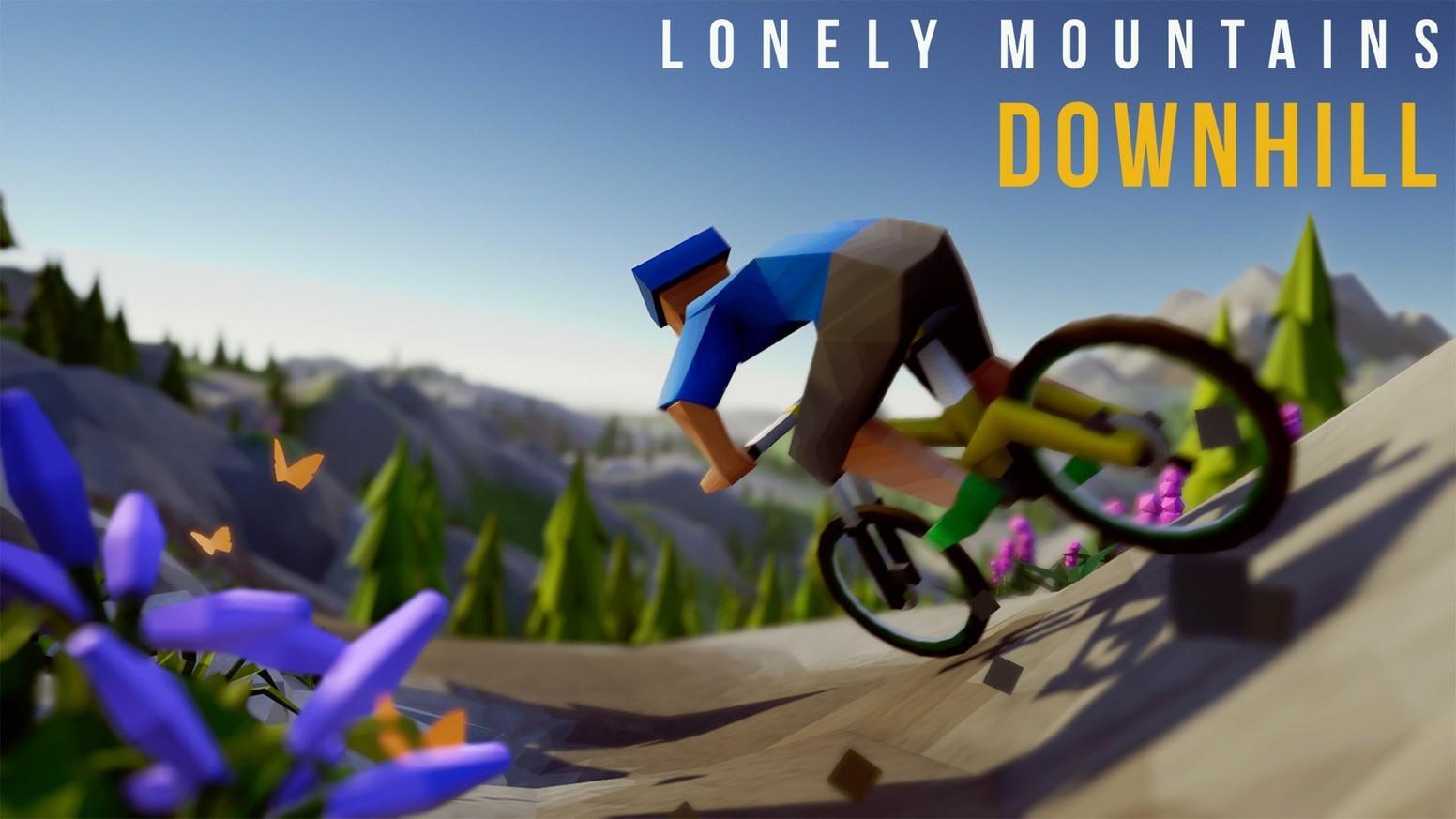 Геймплей Lonely Mountains: Downhill с Nintendo Switch 2