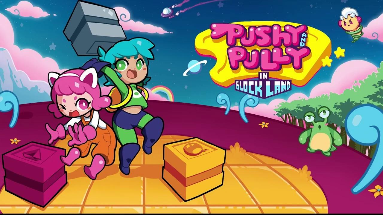 Ретро-приключение Pushy and Pully in Blockland анонсировано для Switch 5
