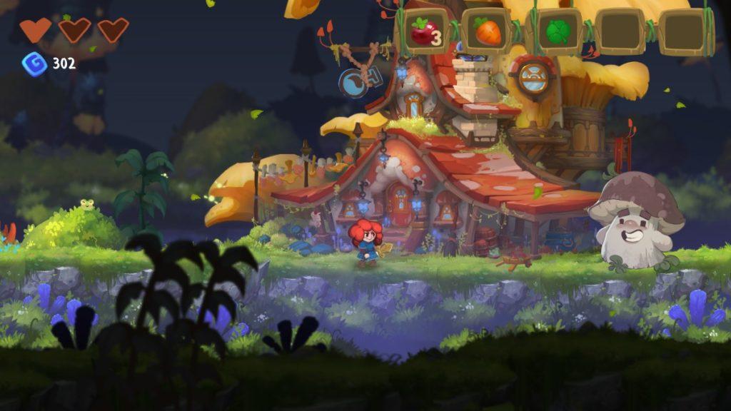 Феи, грибы и рыжуля - анонс платформера Potata: Fairy Flower 1