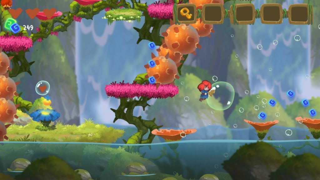 Феи, грибы и рыжуля - анонс платформера Potata: Fairy Flower 3