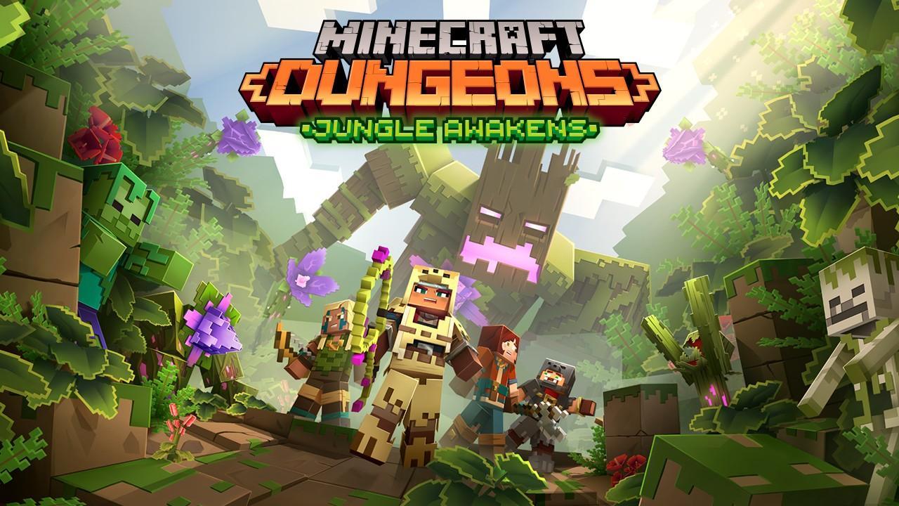 Minecraft Dungeons – бесплатное дополнение Jungle Awakens выйдет 1 июля 101