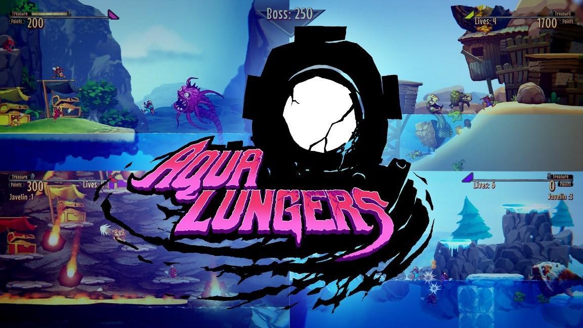 Кооперативный платформер Aqua Lungers готовится к релизу на Nintendo Switch 2