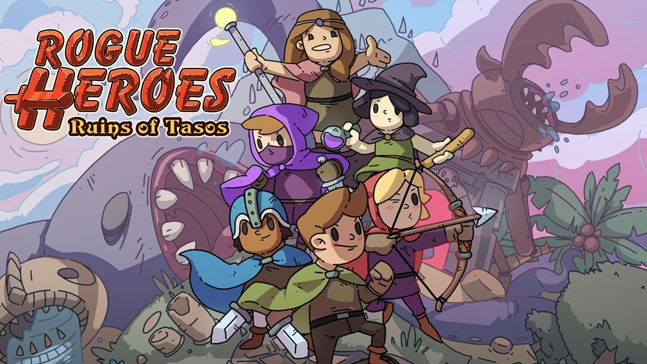 Ни дня без рогаликов - анонс Rogue Heroes: Ruins of Tasos для Nintendo Switch 6
