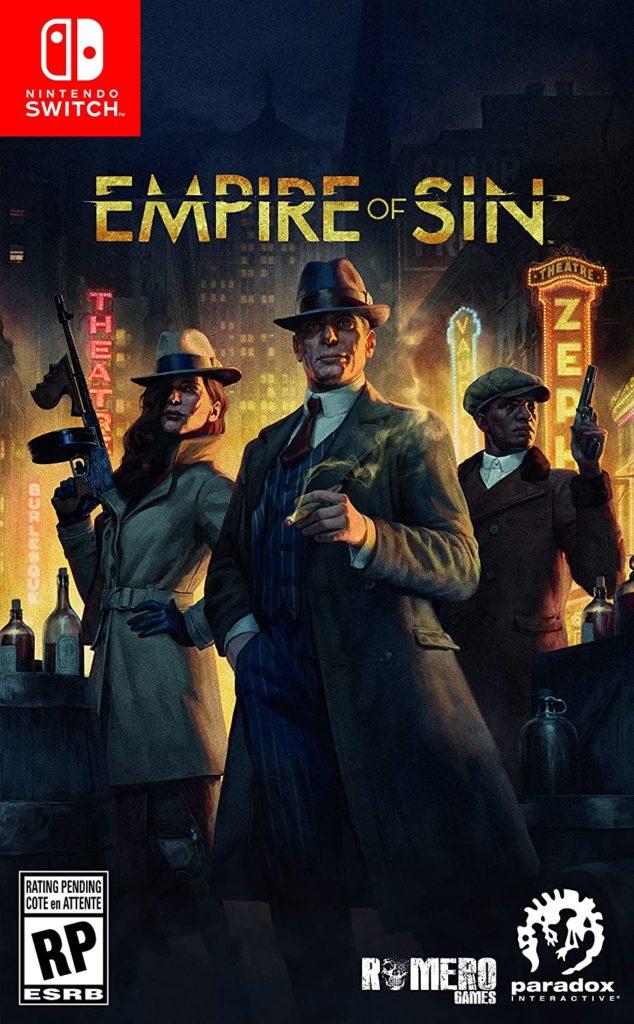 Бокс-арт и предзаказ Empire of Sin 1