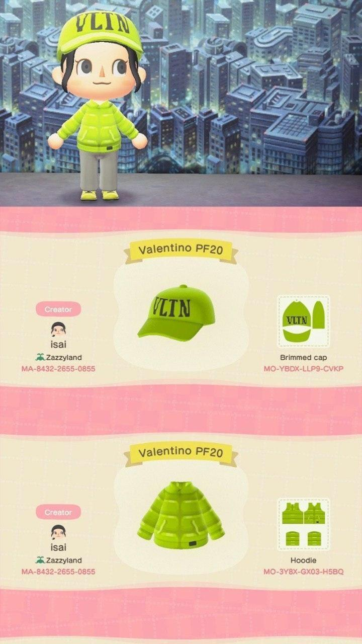 Фирменная одежда Marc Jacobs и Valentino появилась в Animal Crossing: New Horizons - (коды внутри) 4