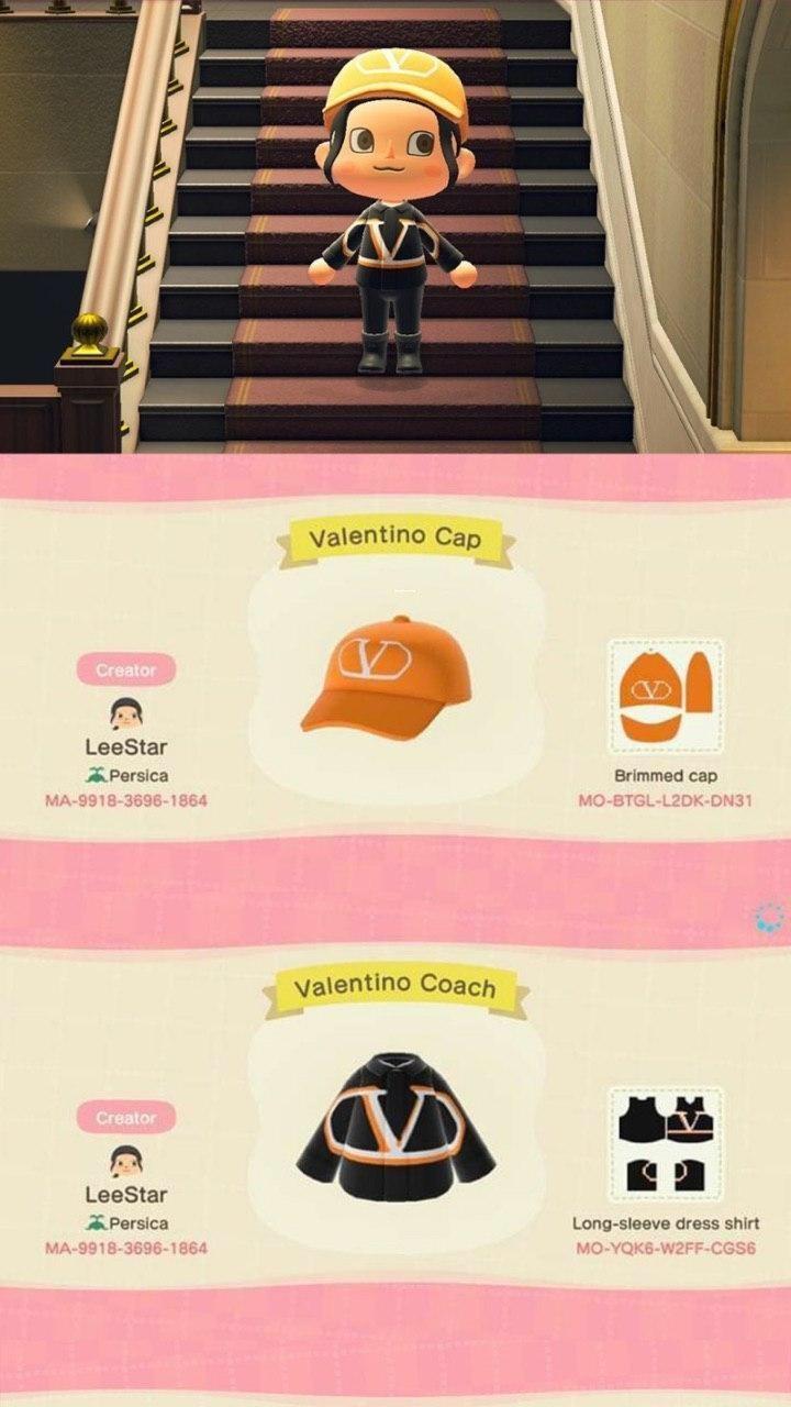 Фирменная одежда Marc Jacobs и Valentino появилась в Animal Crossing: New Horizons - (коды внутри) 3