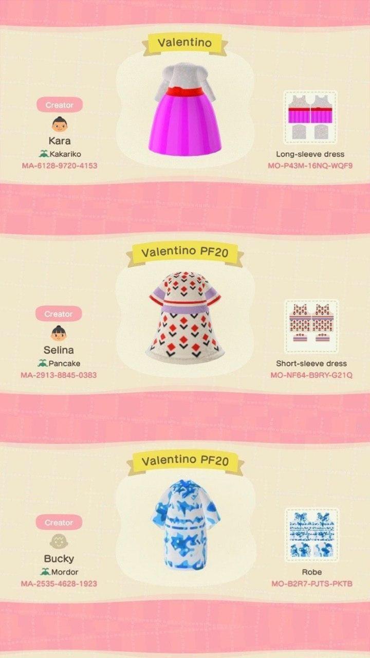 Фирменная одежда Marc Jacobs и Valentino появилась в Animal Crossing: New Horizons - (коды внутри) 1