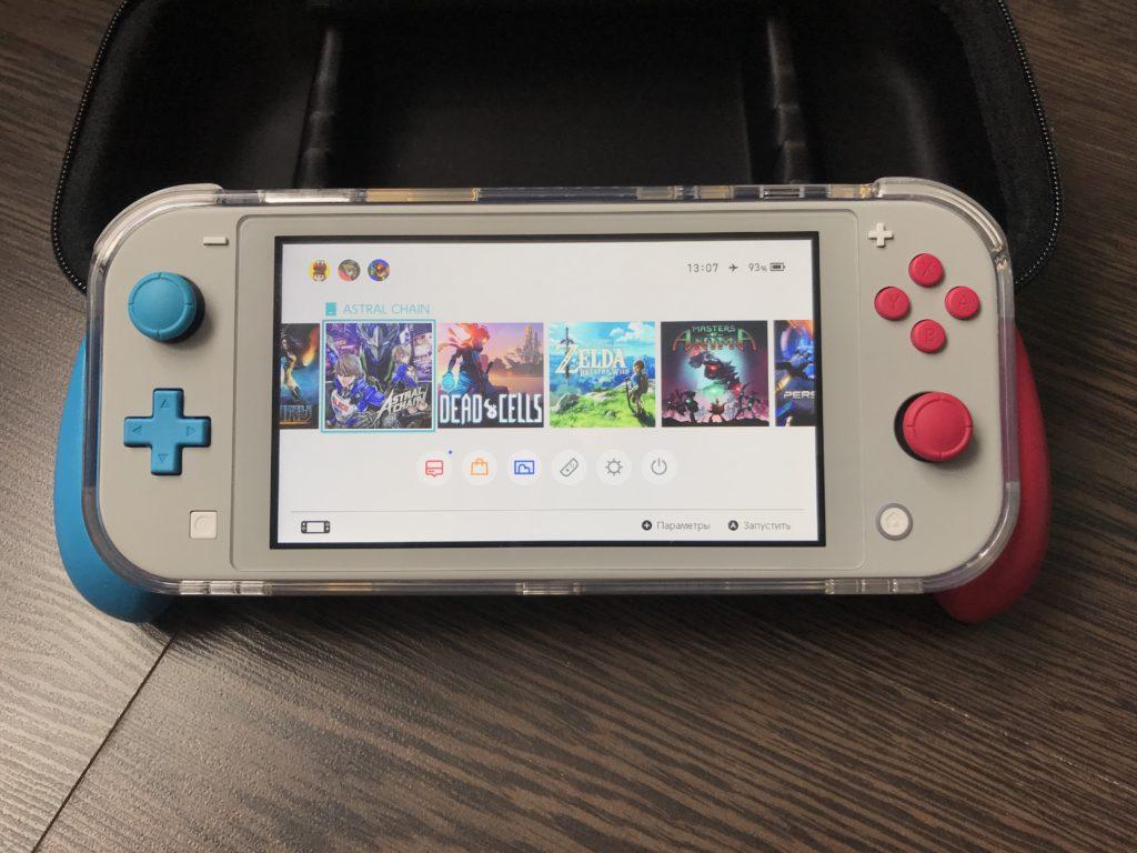 Обзор: Чехол от Skull & Co для Nintendo Switch Lite 3