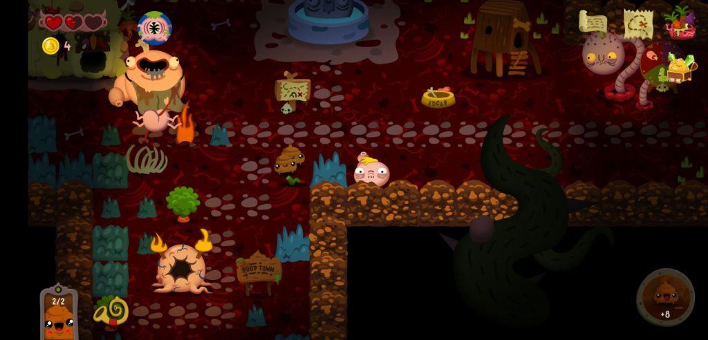 Poopdie - фекальный dungeon crawler анонсирован для Nintendo Switch 1