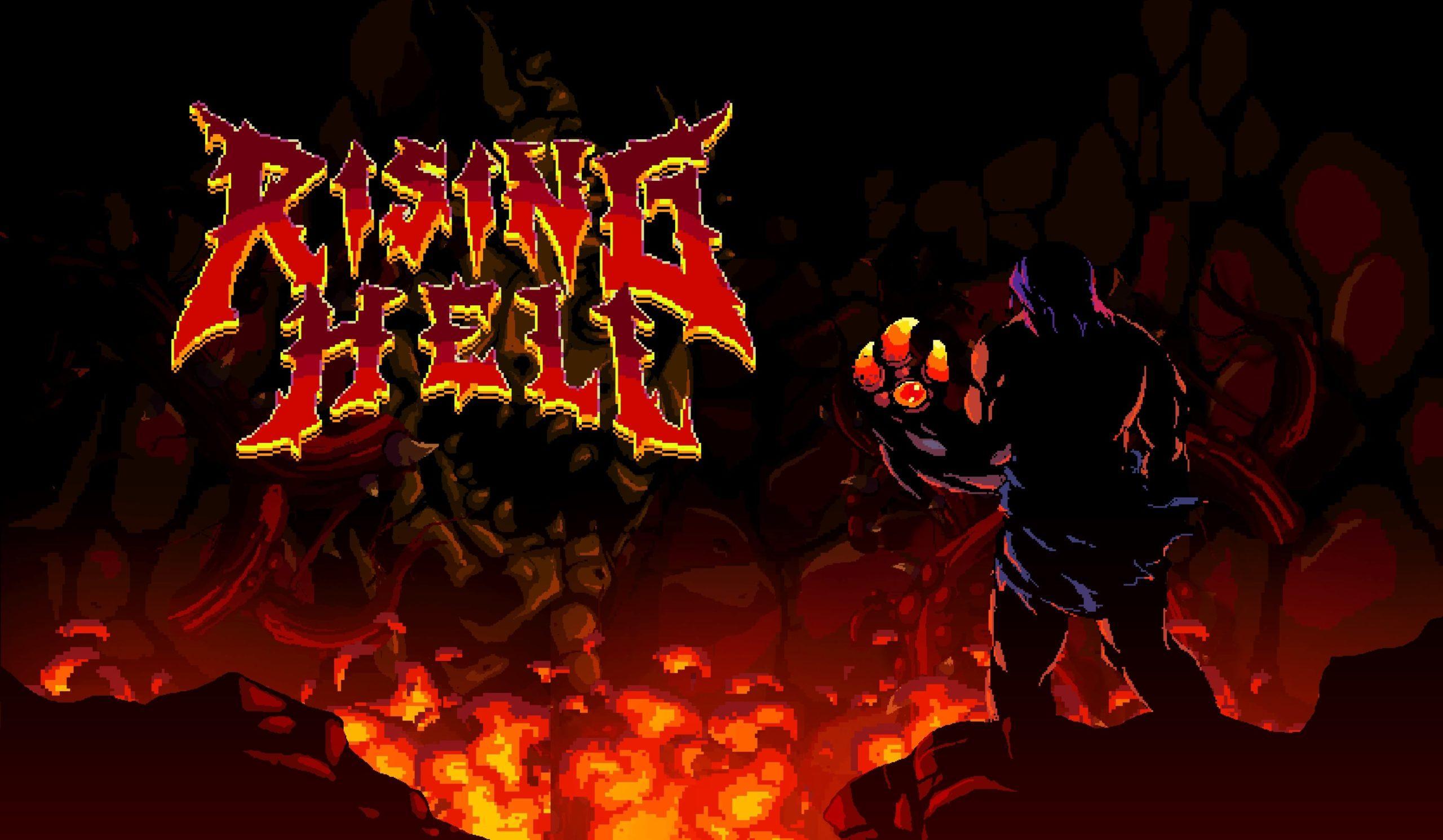 Побег из Ада начнётся в мае - стала известна дата релиза платформера Rising Hell на Nintendo Switch 2