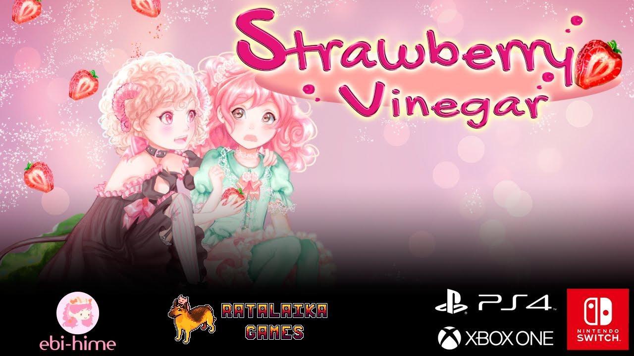 Отец с розовыми волосами и главная героиня 9-ти лет - визуальная новелла Strawberry Vinegar в июне выйдет на Switch 4