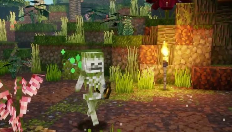 Minecraft Dungeons – бесплатное дополнение Jungle Awakens выйдет 1 июля 3