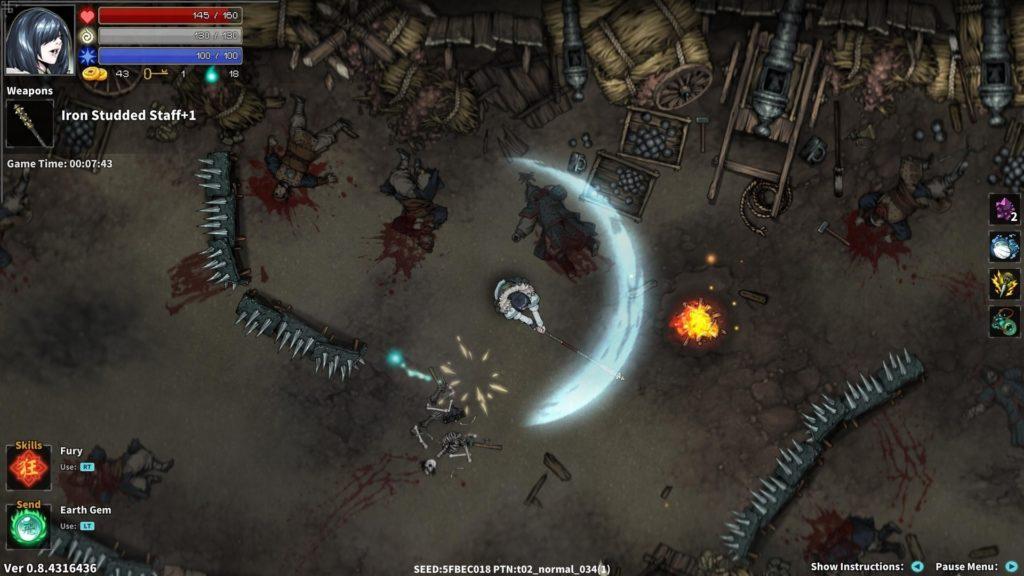 Экшен с элементами рогалика - Devil Slayer: Raksasi анонсирован для Nintendo Switch 3
