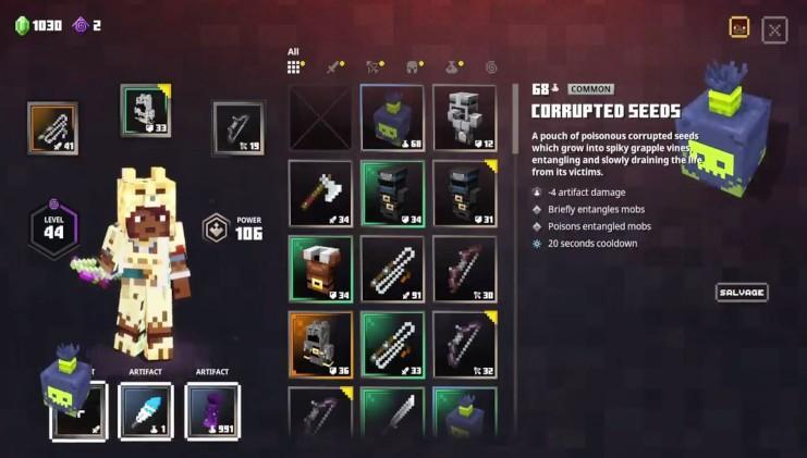 Minecraft Dungeons – бесплатное дополнение Jungle Awakens выйдет 1 июля 2