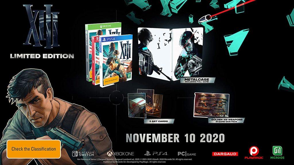 Ремейк XIII получил дату релиза на Nintendo Switch 1