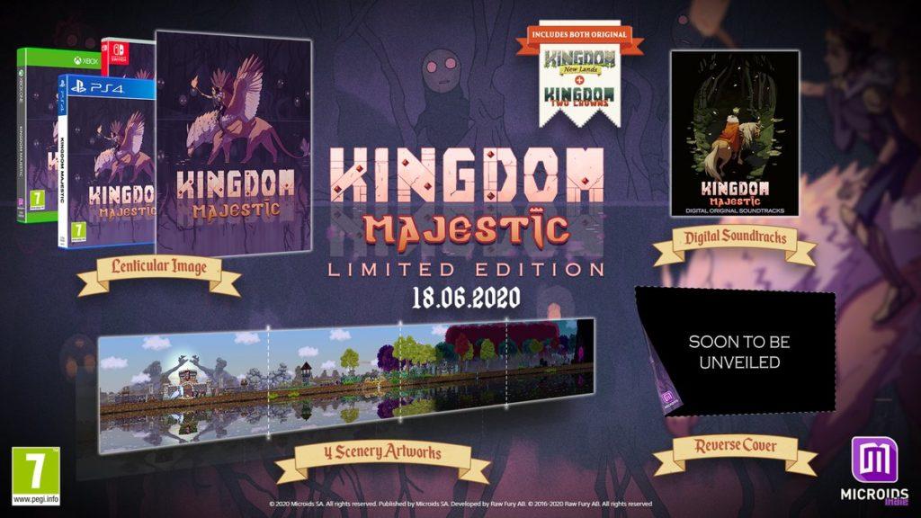 Kingdom Majestic - физическое издание Kingdom выйдет в июле 1