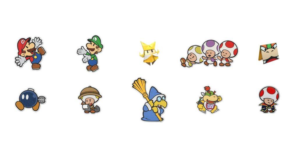 Paper Mario: The Origami King - персонажи, локации, боссы 1