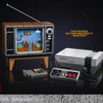 Назад в будущее - анонс игровой консоли Nintendo Entertainment System и ретро-телевизор из кубиков LEGO 100