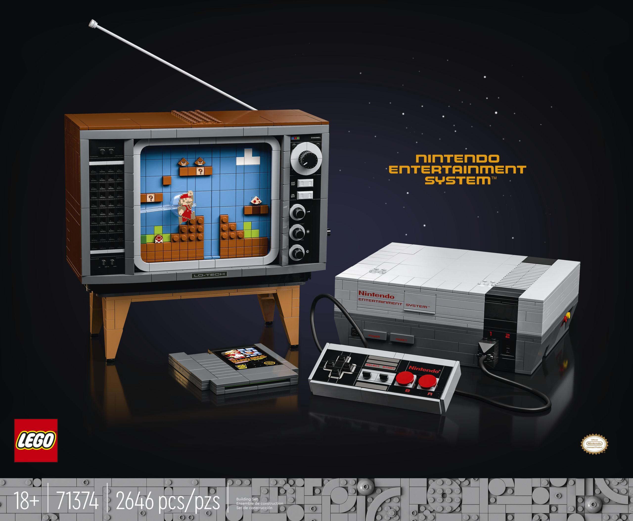 Назад в будущее - анонс игровой консоли Nintendo Entertainment System и ретро-телевизор из кубиков LEGO 101