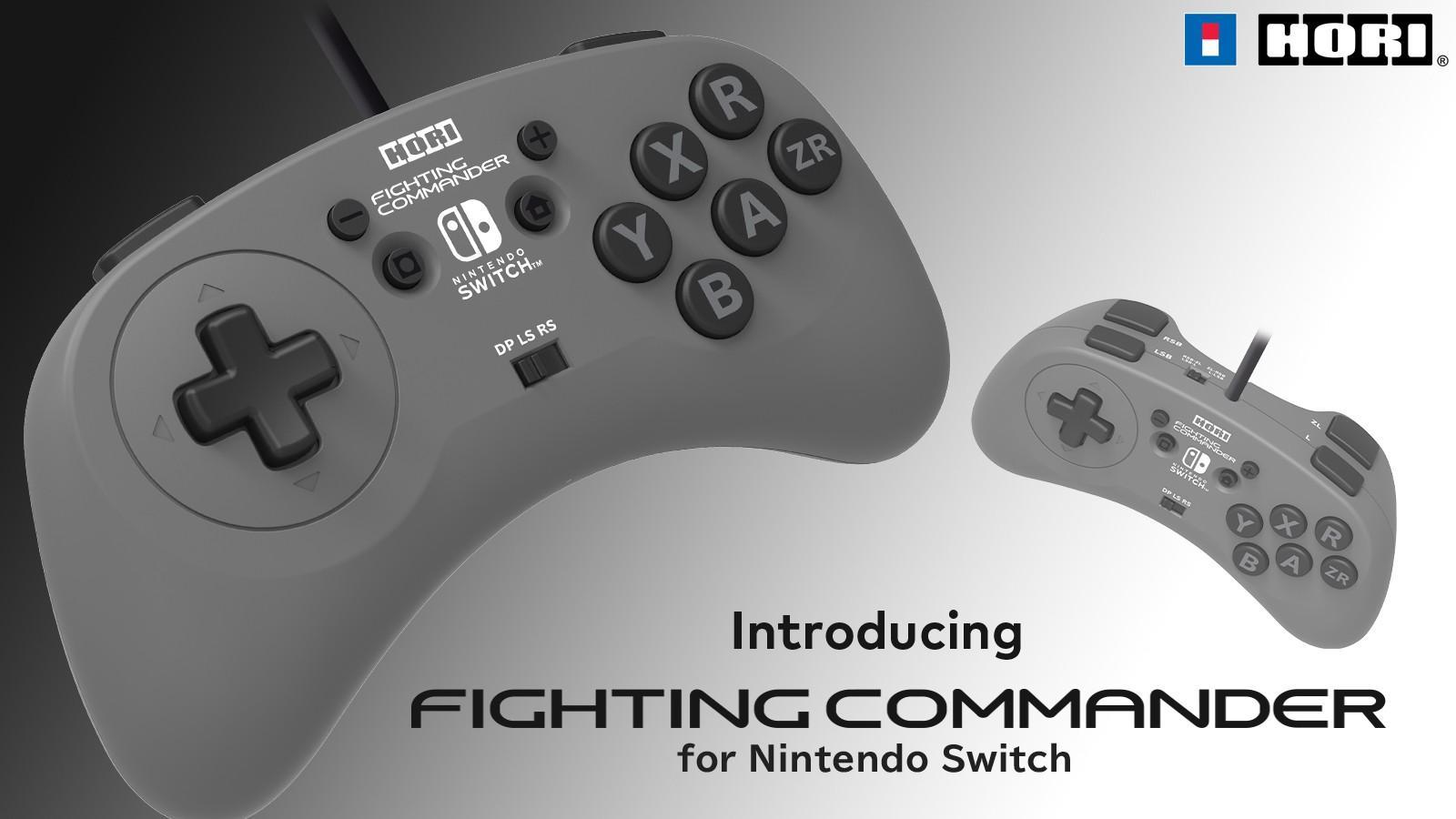 HORI Fighting Commander – шестикнопочный проводной геймпад для файтингов 3