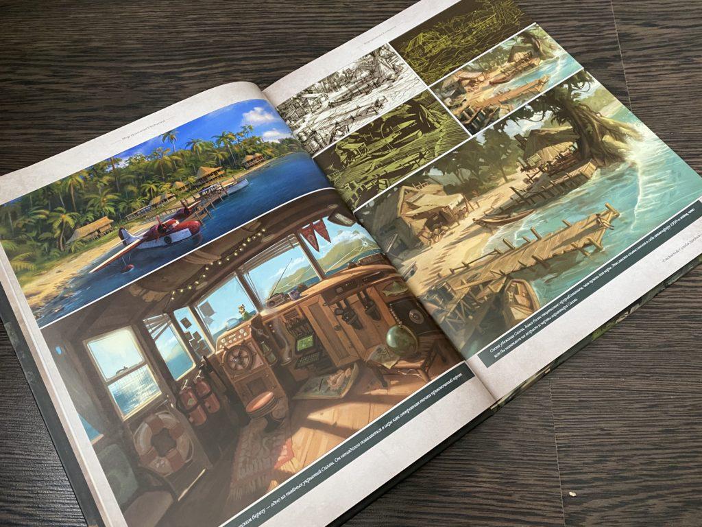 Обзор двух артбуков по Uncharted - Высокохудожественное приключение по серии игр 6