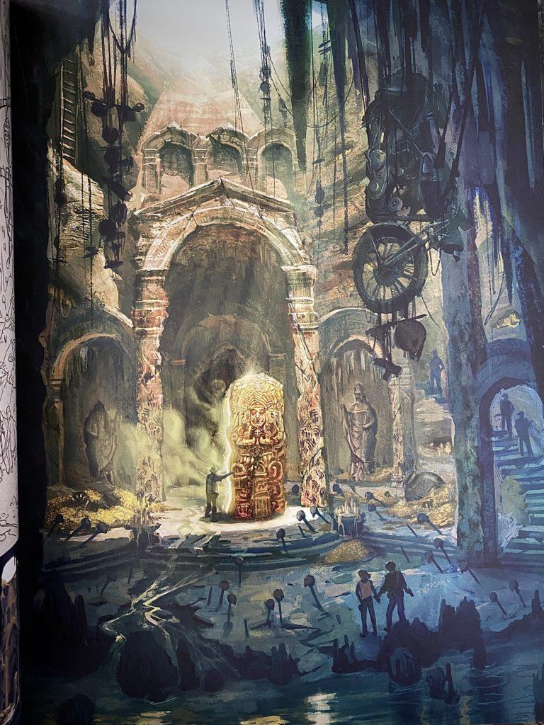 Обзор двух артбуков по Uncharted - Высокохудожественное приключение по серии игр 3