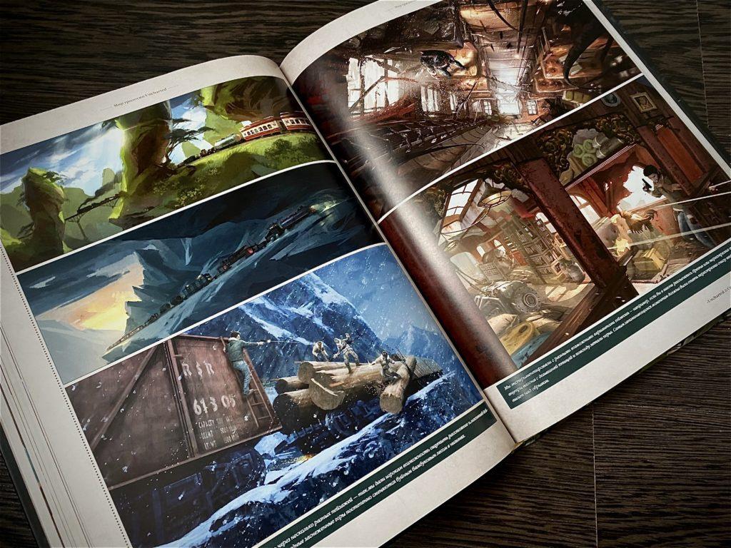 Обзор двух артбуков по Uncharted - Высокохудожественное приключение по серии игр 10