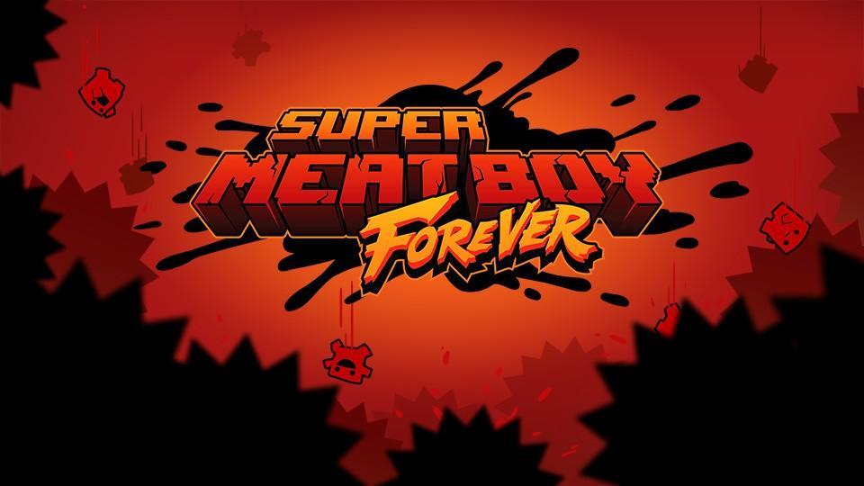 """Море геймплея Super Meat Boy Forever в честь юбилея """"мясного пацана"""" 2"""