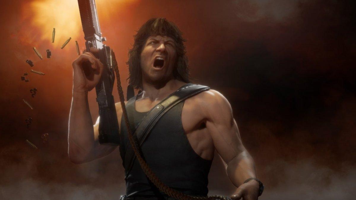 Mortal Kombat 11 Ultimate – в смертельную битву вступает Джон Рэмбо 2