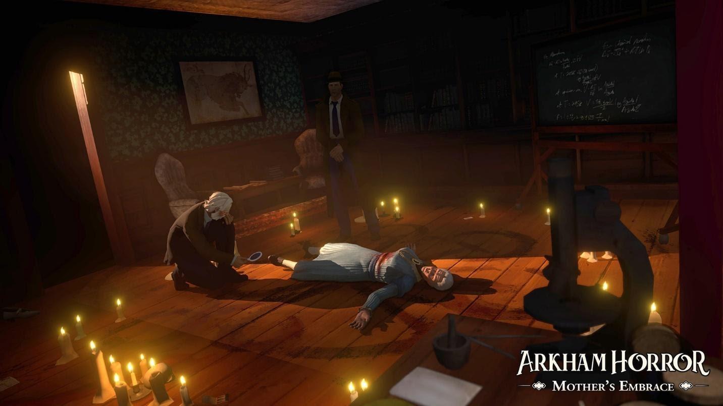 Пошаговое приключение по мотивам настолки «Ужас Аркхема» - анонс Arkham Horror: Mother's Embrace 2