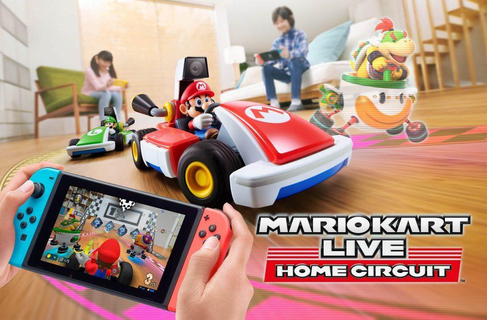Mario Kart Live: Home Circuit - обзорный трейлер, интервью с разработчиками, реклама и свежий геймплей 2