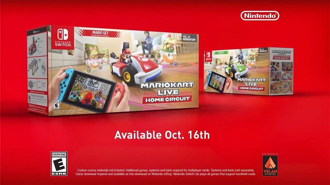 Свежая реклама Mario Kart Live: Home Circuit 2