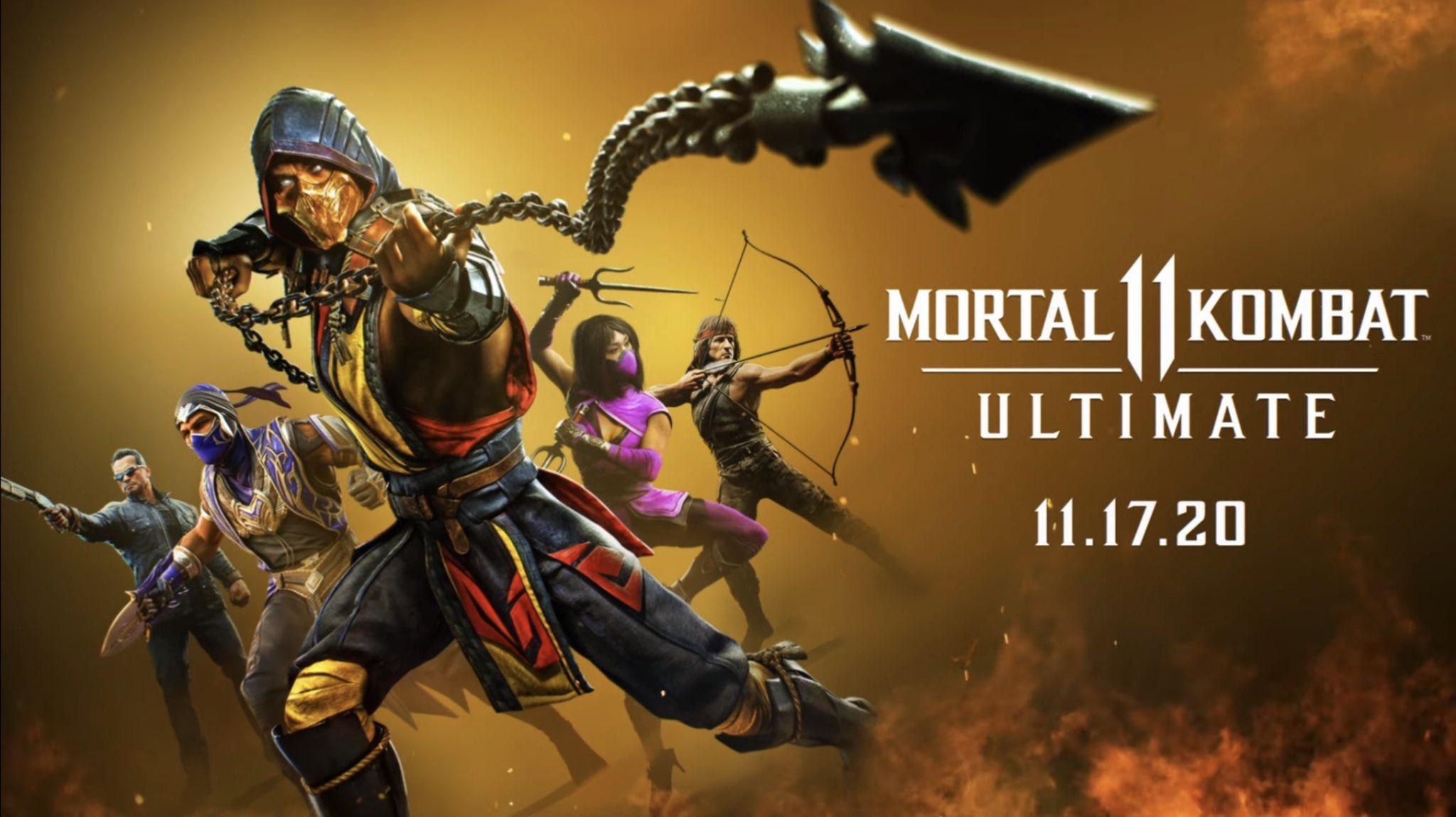 Милина, Рейн и Рэмбо - WB Games анонсировали Mortal Kombat 11 Ultimate 98