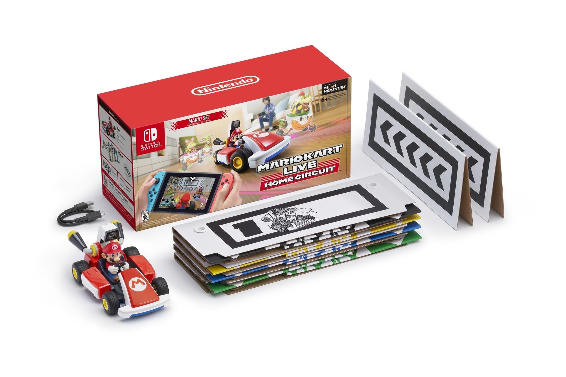 Подробности Mario Kart Live: Home Circuit - покрытие для гонок, время автономной работы и многое другое. 2
