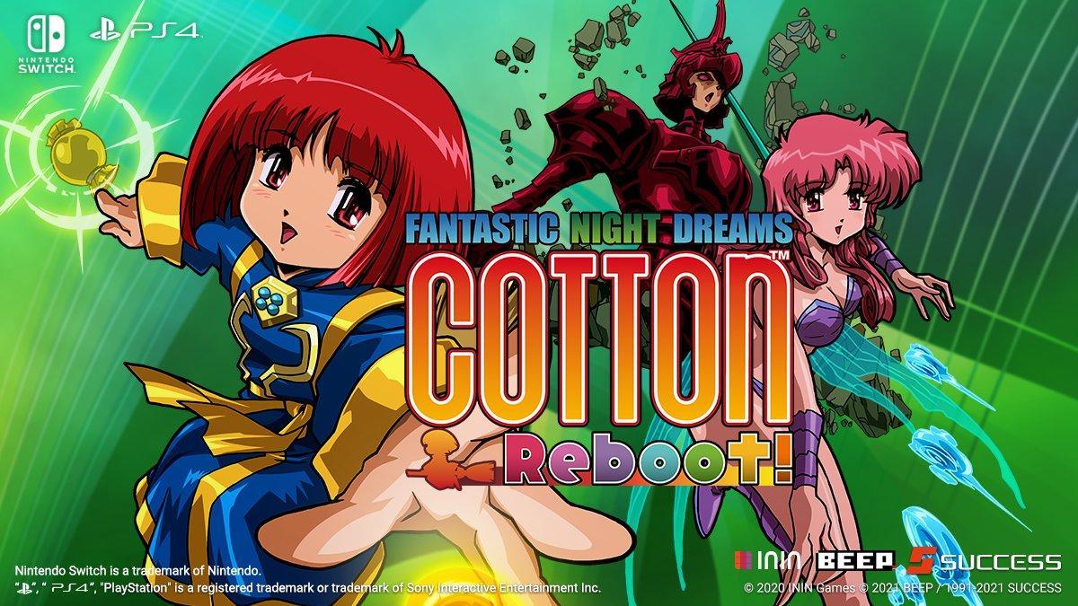 Новый трейлер «Cute' Em Up» под названием Cotton Reboot! 2