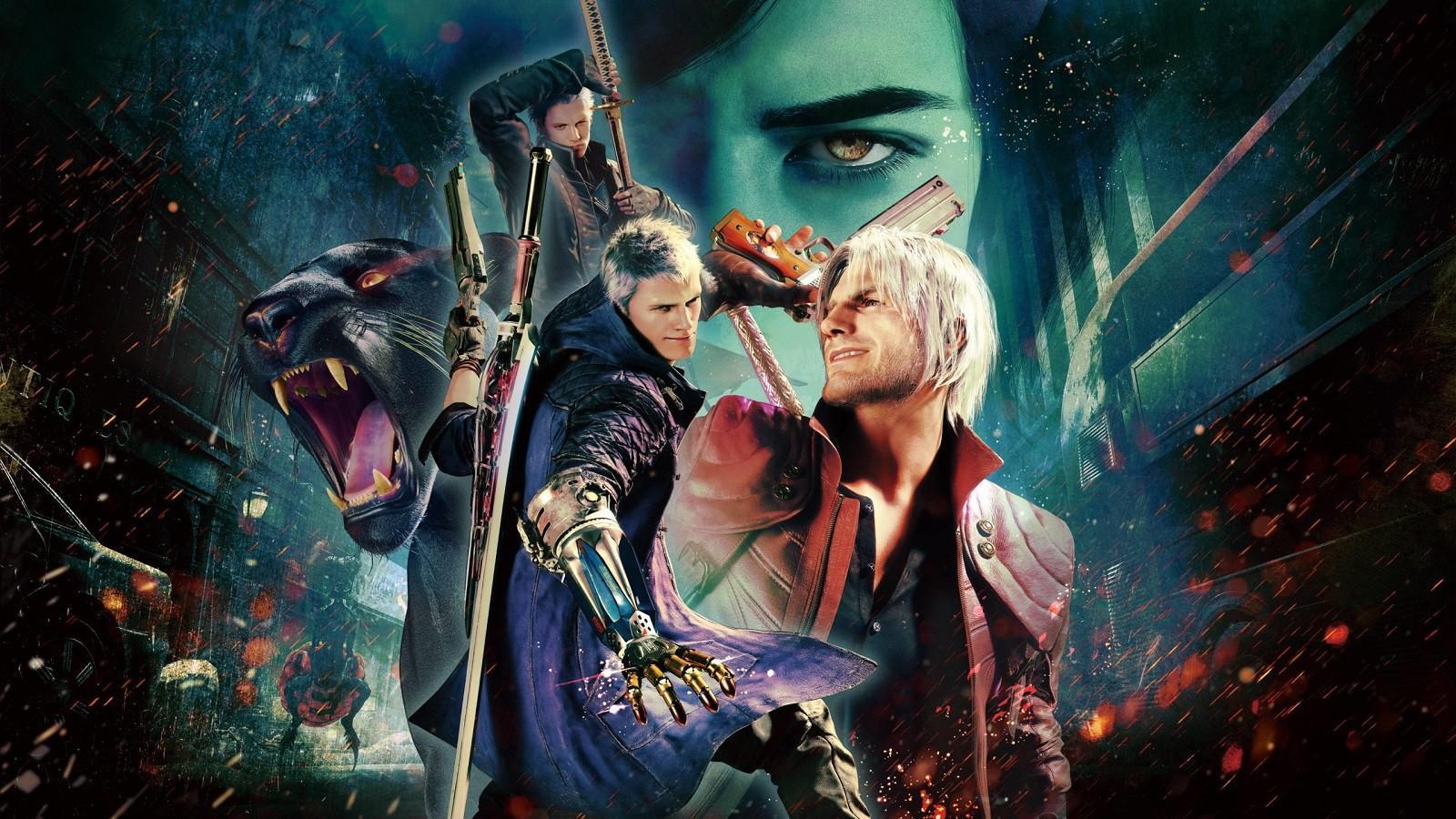 Трейлер к релизу Devil May Cry 5 Special Edition на PS5 и Xbox Series X 2