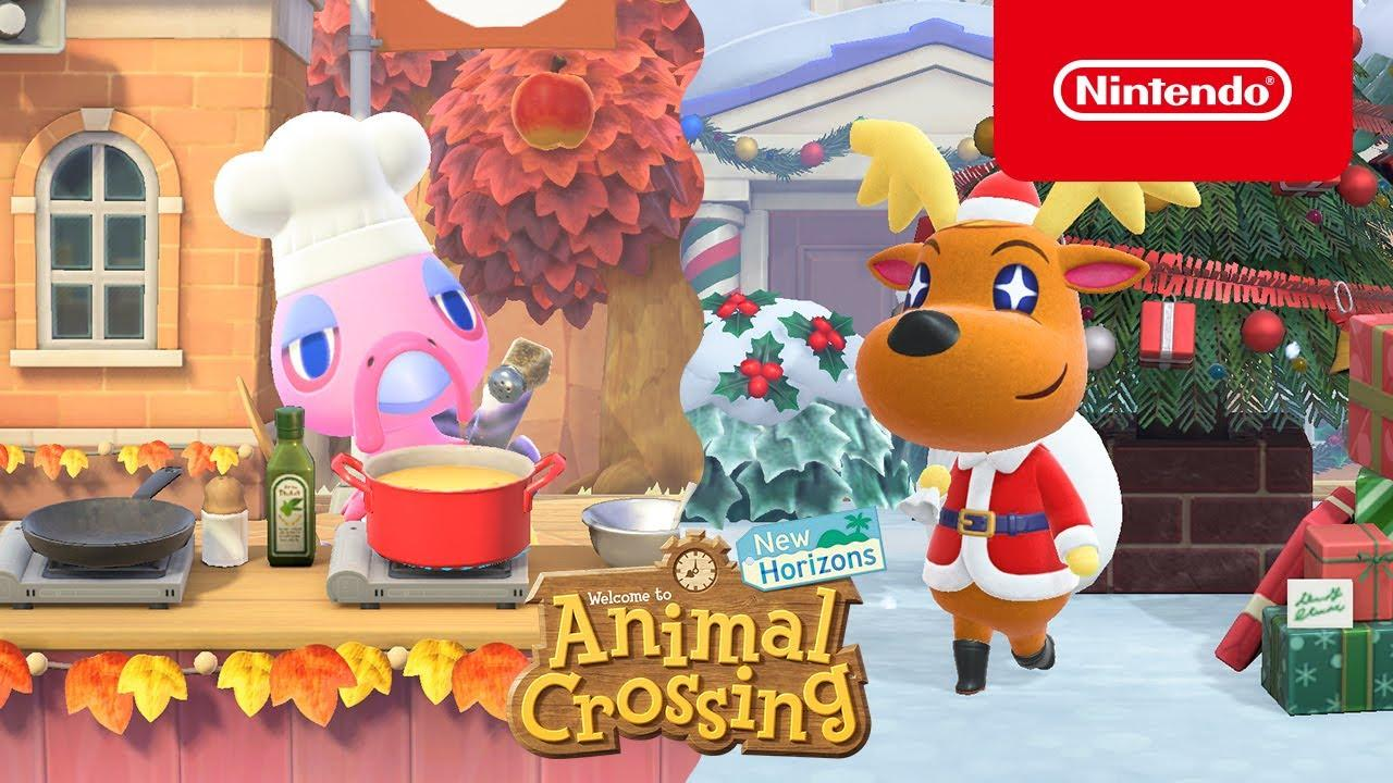 Праздничное обновление Animal Crossing: New Horizons 1.6.0 стало доступно всем владельцам игры 2