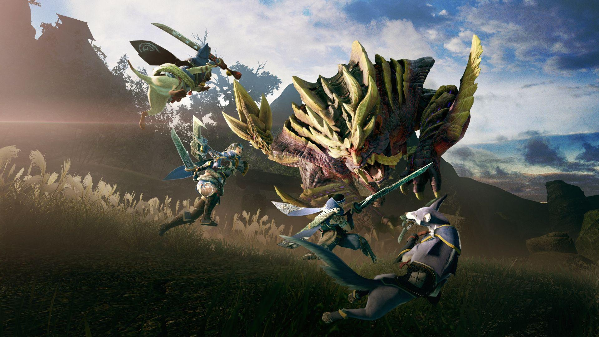 Capcom опубликовала карту поддержки Monster Hunter Rise 3