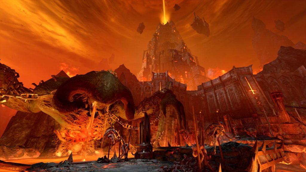 Скриншоты Doom Eternal с Nintendo Switch 6
