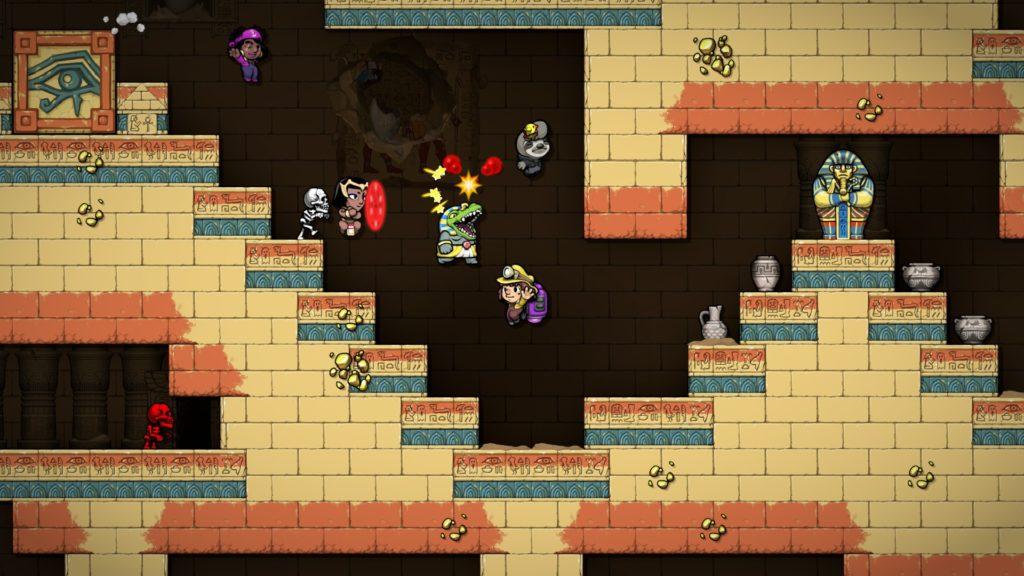 Приготовьтесь расхищать гробницы - анонс Spelunky и Spelunky 2 для Nintendo Switch 4