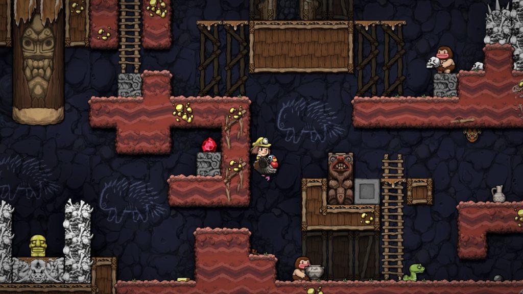 Приготовьтесь расхищать гробницы - анонс Spelunky и Spelunky 2 для Nintendo Switch 1