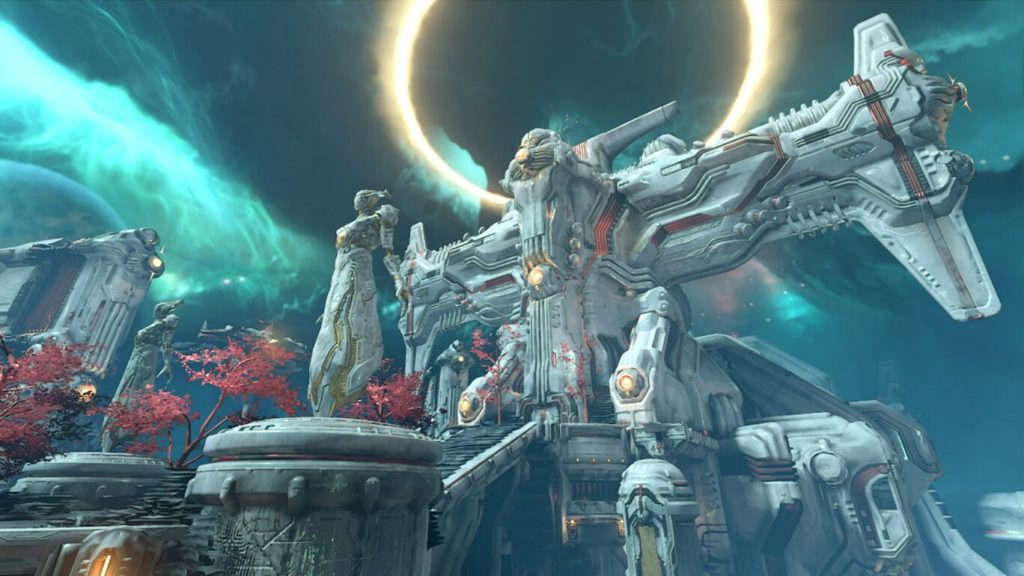 Скриншоты Doom Eternal с Nintendo Switch 5
