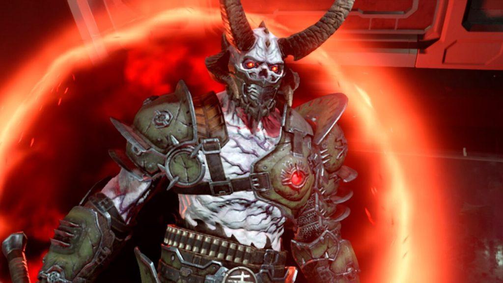 Скриншоты Doom Eternal с Nintendo Switch 3