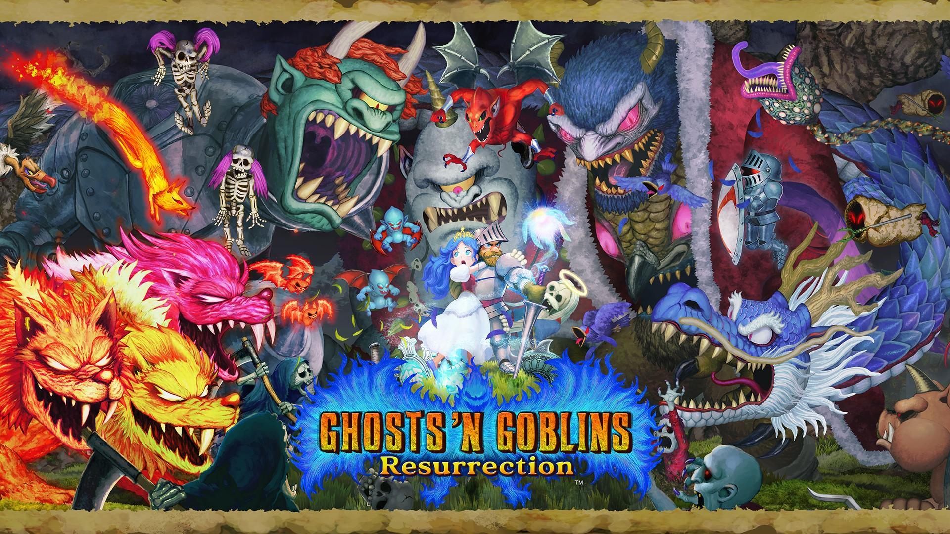 Свежий геймплей ремейка Ghosts 'n Goblins Resurrection 2